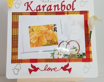 Kit brand table exotic fruit in the hoop for wedding theme madras make you even