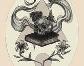 Memento Mori- Print 8x10...