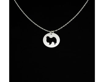 Japanese Chin Necklace - Japanese Chin Jewelry - Japanese Chin Gift
