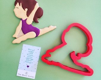 Gymnastic Cookie Cutters / Gymnastic Cutters / Custom Cookie Cutters / Custom Cutters