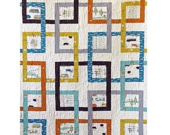 Grand Junction Quilt Pattern - Paper Pattern