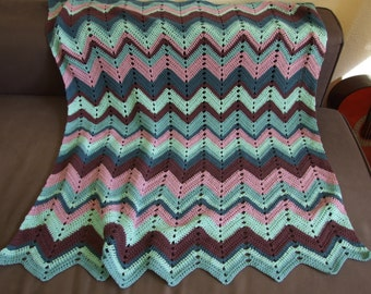 Costum designed, made to order: baby blanket