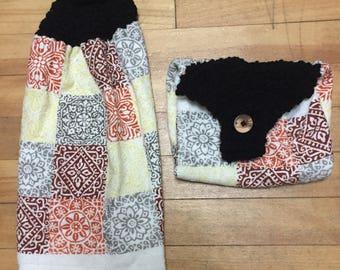 Crochet Kitchen Towel Set