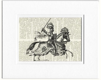 my Knight in Shining Armor print