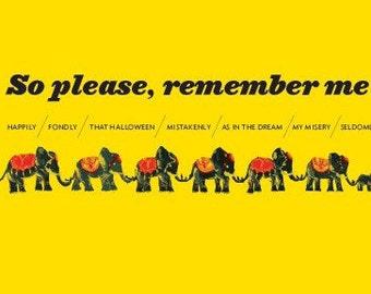 Remember Me/Elephants