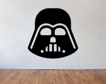 Vinyl Wall Word Decal - Darth Vader Decal - Inspired by Star Wars - Wall Word - Home Decor - Star Wars Gift