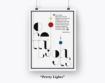 Pretty Lights Fine Art Print