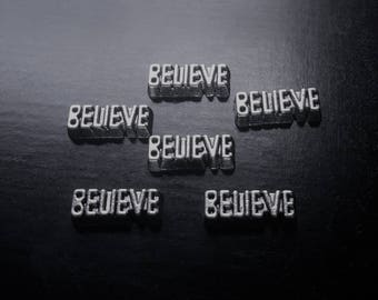 Believe Floating Charm for Floating Lockets-Great Gift Idea