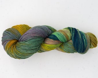 Wool hand dyed multicolor knit merino wool yarn handdyedwool fittings Tricotcolor creative wool knit dye tricotcolor weaving