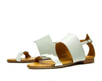 Handmade strappy sandals, Last pieces, Greek sandals EU size 36, 50 % OFF, flats, sandals flats, Leather sandals, Total sale
