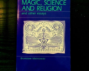 Magic, Science and Religion - RARE Vintage Academic Occult Book