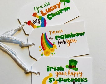 St. Patrick's Day Gift / Favor Tags
