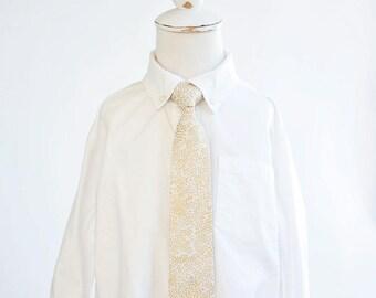 Necktie, Neckties, Boys Tie, Baby Tie, Baby Necktie, Wedding Ties, Ring Bearer, Boys Necktie, Ties, Rifle Paper Co - Champagne Blush