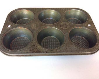 Ovenex Waffle Pattern Cupcake/Muffin, Mini Cupcake and Loaf Pan -  3 piece set