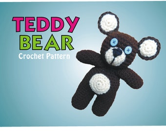 Teddy Bear Crochet Pattern - A Classic Stuffed Toy - Jayda InStitches