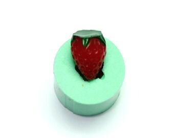 Strawberry mold, silicone mold, fondant mold, resin mold, clay mold