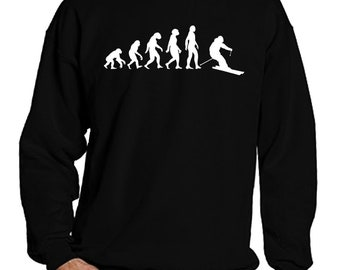 Ski Sweatshirt for Men and Women, Ski Sweater, Ski Long Sleeve Shirt, Skiing Sweatshirt, Skiing Sweater, Skiing Long Sleeve, Skier Sweater