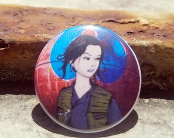 CWA Jyn Erso Star Wars 1 inch Button