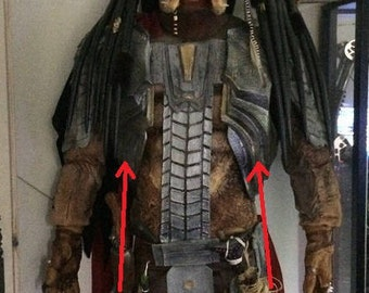 Predator armor only armor costume lifesize props cosplay replica 1/1
