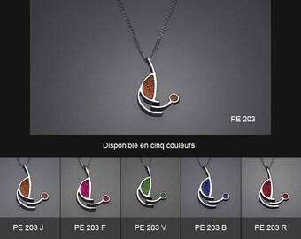 Sterling silver pendant. PE 203