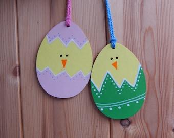 Hanging Easter decoration, Easter gift, Personalised Easter decoration, Happy Easter. Easter egg decoration