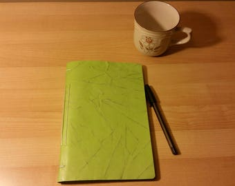 Journal limegreen LINED