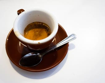 Espresso Cup Framed Photo