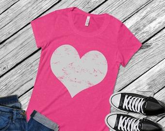 Heart svg, grunge svg, Distressed Heart svg Valentine svg Valentines Day svg, Grunge SVG Dxf Eps Png Vector Art, Clipart  Cricut  Silhouette