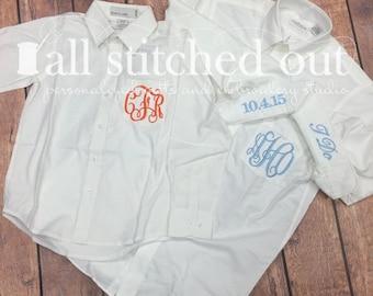 Monogrammed Flower Girl Shirt - Monogrammed Junior Bridesmaid Shirt - Personalized Flower Girl Shirt - Personalized Junior Bridesmaid-Bridal