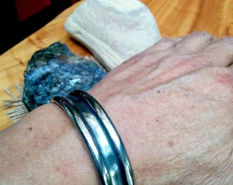 Titanium Cuff Bracelet. 2.8 X 15 mm Thick and Wide.