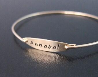 Custom Name Bracelet, Personalized Name Bracelet, Name Bangle, Bracelet with Name, Personalized Name Jewelry, Custom Name Jewelry