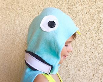 Pigeon Cape, Kids Halloween Bird Costume, Blue Pigeon Costume, Made to Order