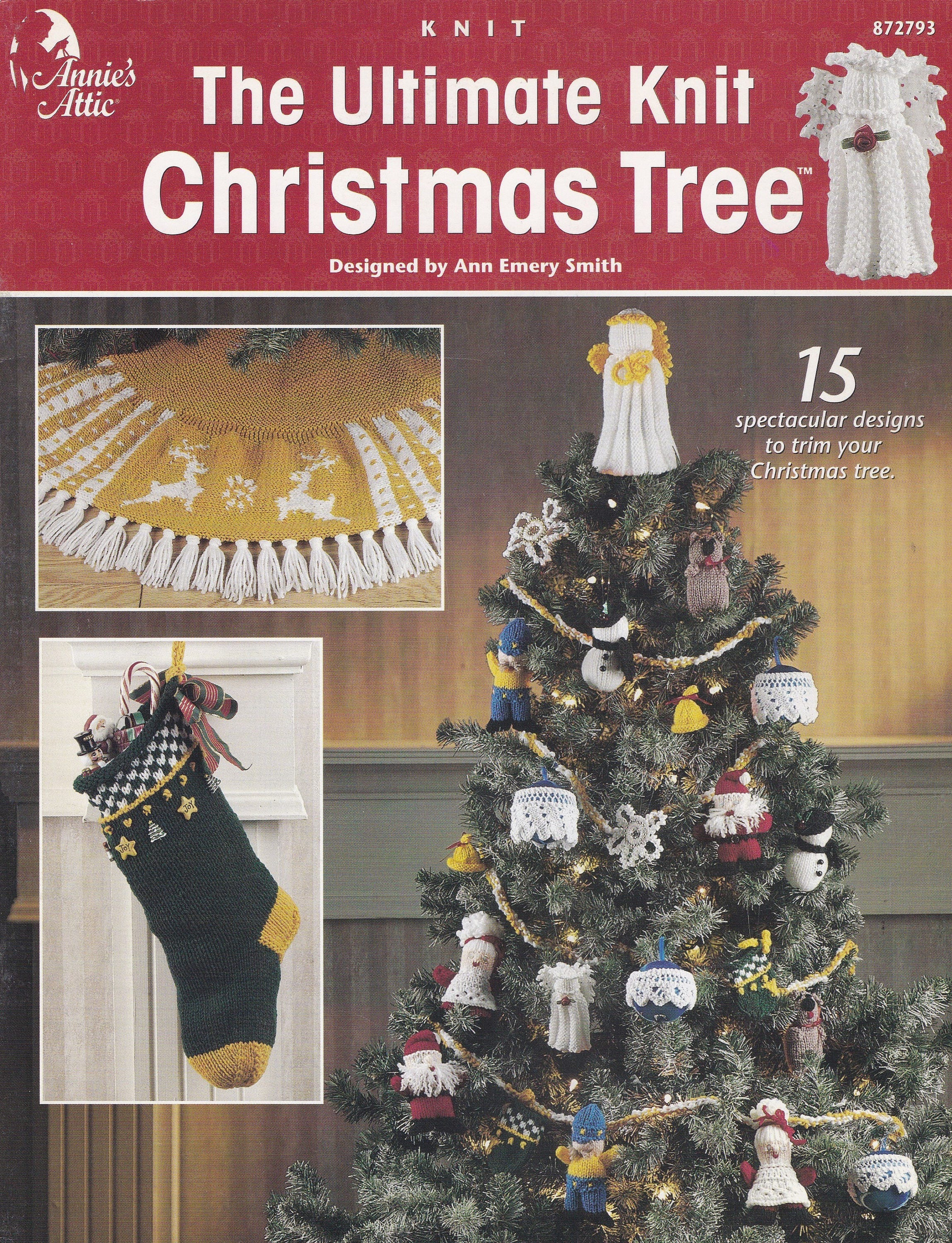 The Ultimate Knit Christmas Tree, Annie\'s Attic Knit Pattern Booklet ...