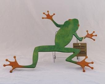 Green Frog Trivet / Wall hanging