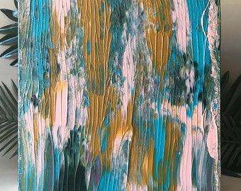 Jungle III ≈ Acrylic on Canvas ≈ 20x20
