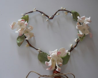 Flower Girl Wand Heart