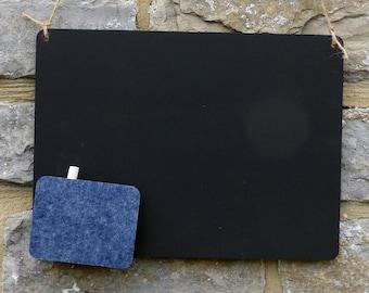 Chalk Blackboard Rectangle Shape for Memos Notes & Home Décor