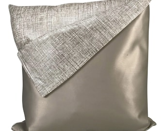 READY TO SHIP Pewter Envelope Pillow