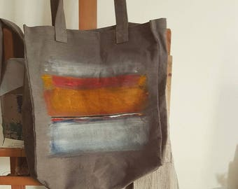 Shopping bag tote bag organic fabric shopper