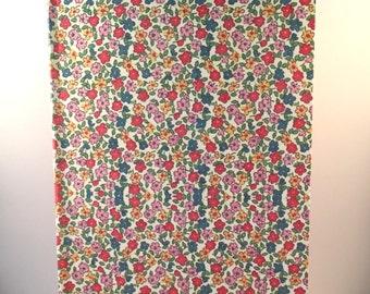 A5 Multicoloured Floral Print Hardback Sketchbook