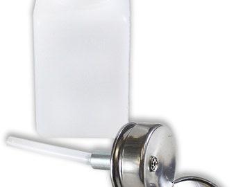 180 Mil Solvent Dispenser With Pumper Top: TJ-45132