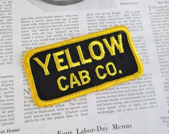 Vintage Yellow Cab Co. Patch