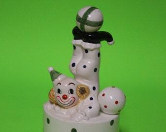 Clown music box - Polka dotted Musical Clown - Mary Poppins song - Chim-Chim Cherree