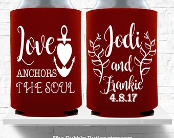 Love Anchors The Soul, Wedding Cruise, Nautical Wedding Favor, Bridal Party Gifts, Destination Wedding, Cruise Wedding Favors, Wedding Decor