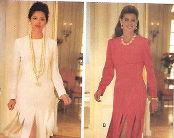Butterick 3180 Misses Fringed Dress Pattern, Size 6-8-10, UNCUT