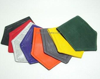 Solid Color Leather Pocket Flag Hankie BDSM Kink (JWL101)