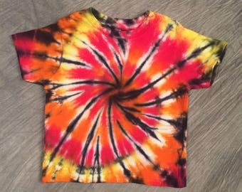 Toddler Tie Dye, Size 4T, Bright toddler shirt, Cute Kids T-Shirt, Kids Colorful shirt, Toddler Tye Dye, Toddler Boy T Shirt, RS0617234