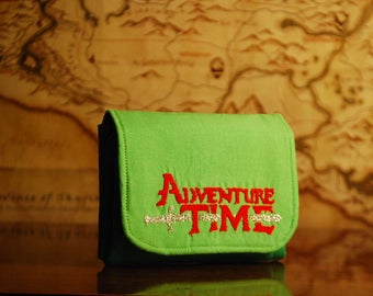 Adventure Time inspired Accordion Wallet
