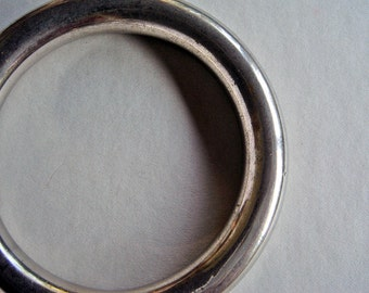Vintage Silverplate Bangle