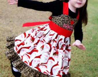 Instant Download Girls Ruffle Dress  Twirl Dress PDF Sewing pattern Girls Sizes 12M-7 Tutorial E Book